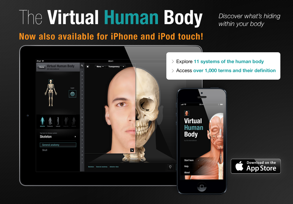 Virtual Human Body Free Anatomical Atlas Ikonet