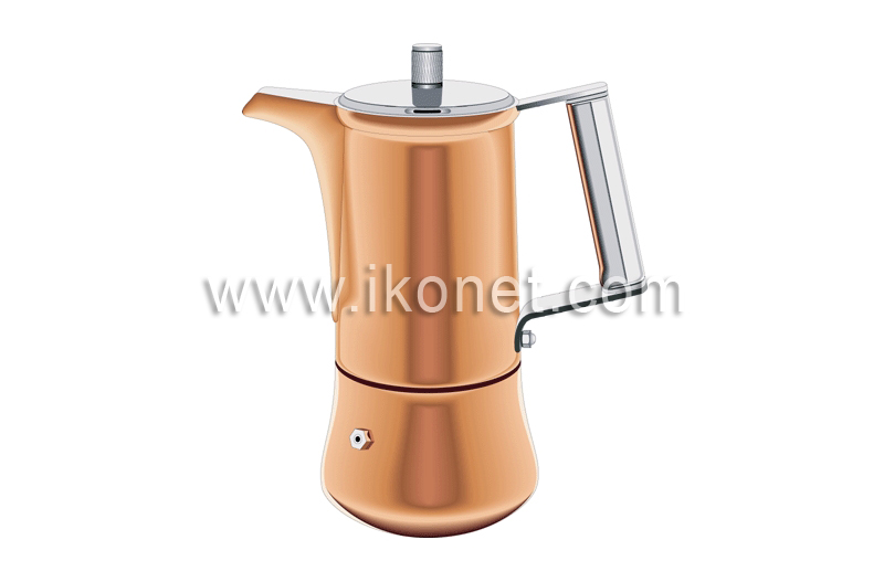 How To Say Coffee Maker In Spanish : food and kitchen > kitchen > coffee makers > espresso coffee maker image - Visual Dictionary