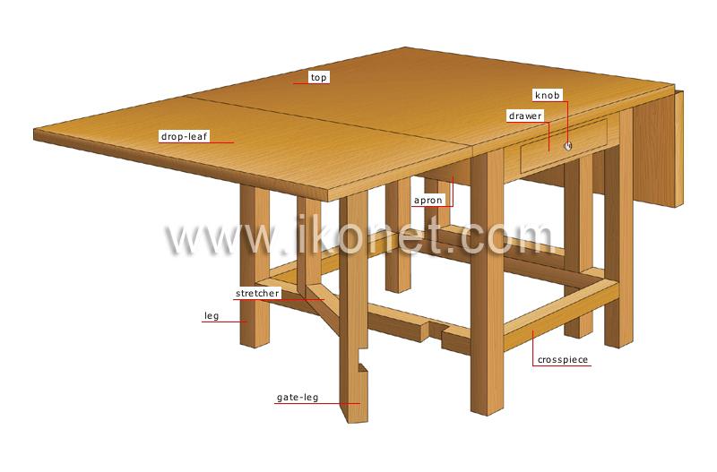 house house furniture table gate leg table image visual