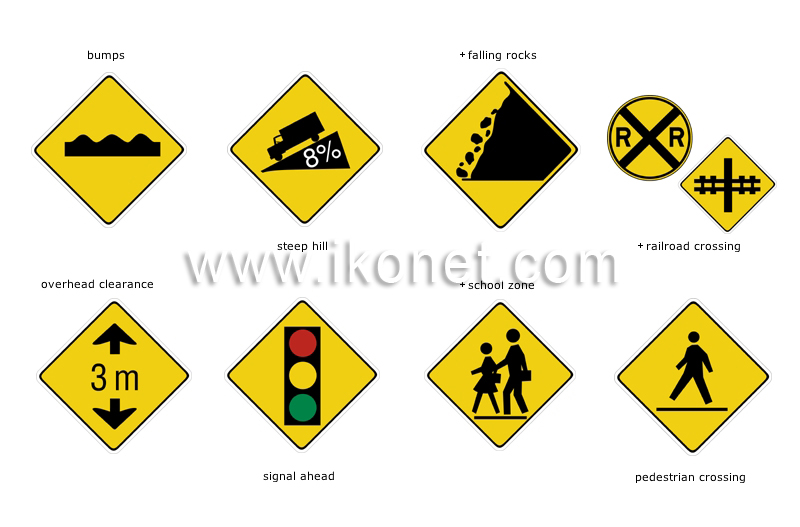 transport and machinery > road transport > road signs