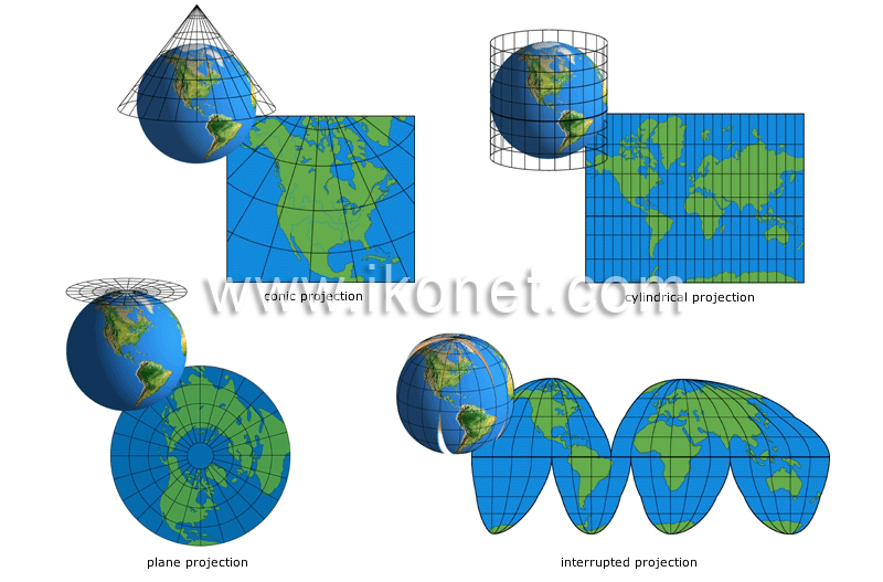 Earth geography cartography map projections image visual map projections image gumiabroncs Choice Image