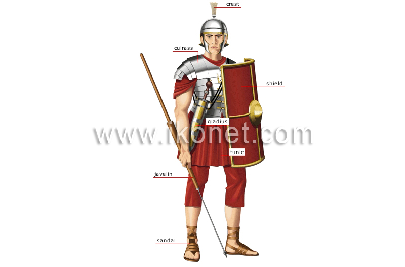 Who was in the Roman army?