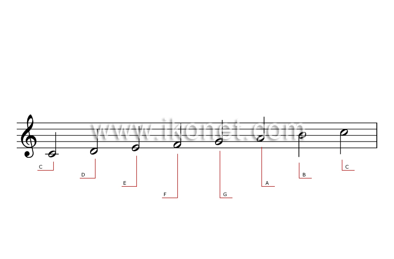 arts and architecture > music > musical notation > scale ...  arts and archit...