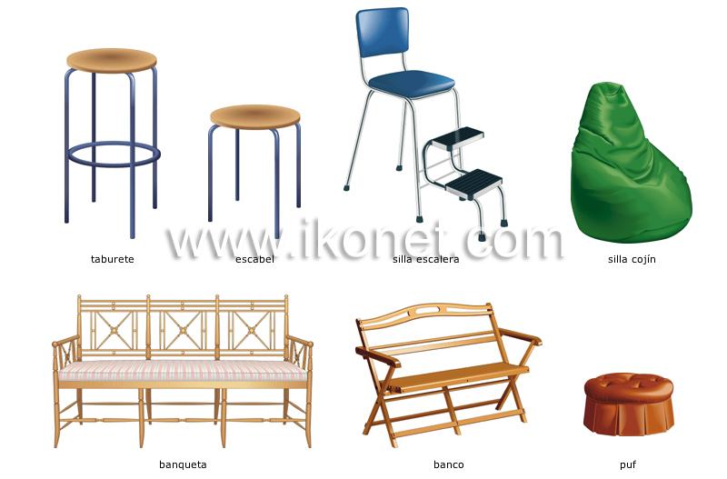 Casa mobiliario para el hogar asientos imagen - Mobiliario para el hogar ...