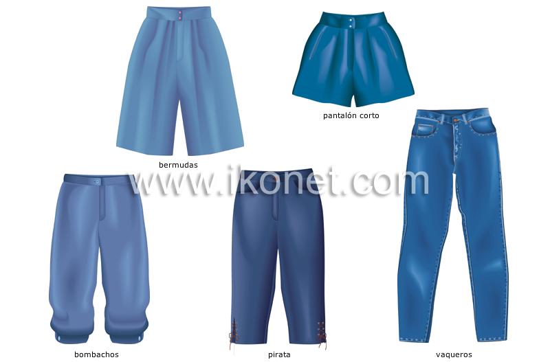 ejemplos de pantalones image