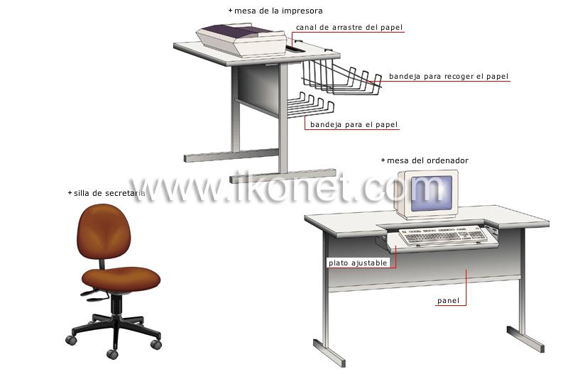 comunicaciones y ofimática > automatización de la oficina > muebles de ...
