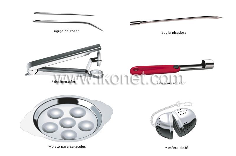 productos alimenticios y de cocina cocina utensilios de cocina utensilios diversos imagen. Black Bedroom Furniture Sets. Home Design Ideas