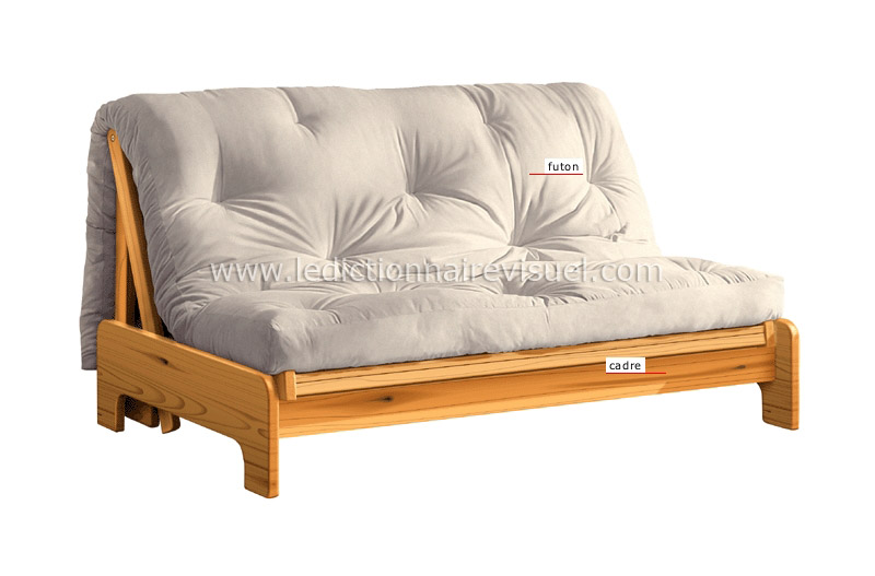 Futon ikea for Divan lit une place