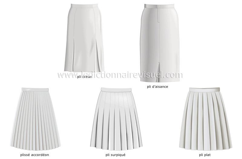 Assez vêtements > vêtements de femme > exemples de plis image  MN46