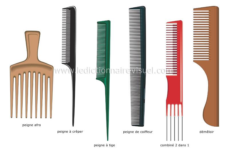 Parure et objets personnels parure coiffure peignes for Casser un miroir signification