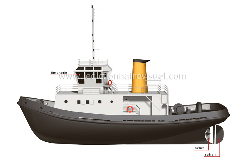bateau remorqueur
